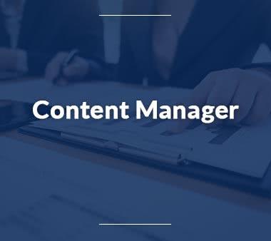 Content Manager Business Development