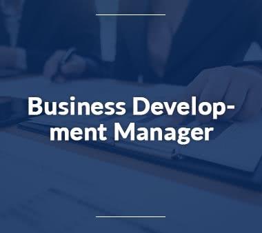 Produktmanager Business Development Manager