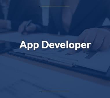 App Developer UX Designer