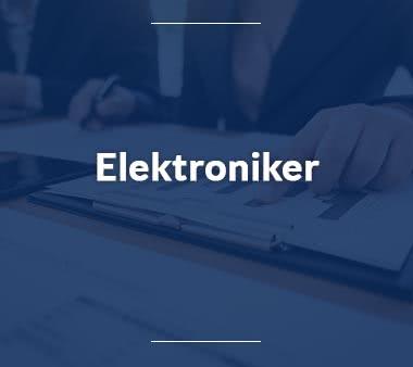 Elektroniker Mechatroniker