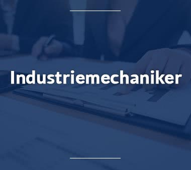 Industriemechaniker Mechatroniker