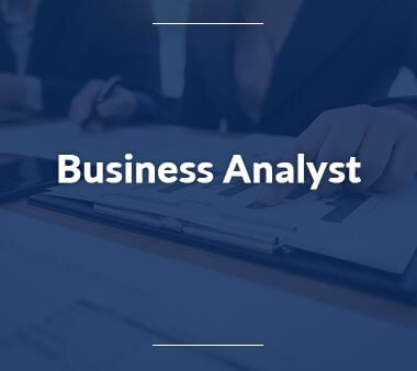 Business Analyst Bürojobs