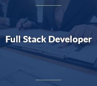 Full Stack Developer IT-Berufe