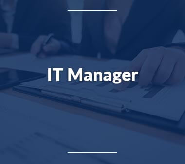 IT Manager Bürojobs