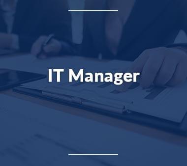IT Manager IT-Berufe