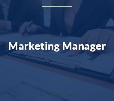 Marketing Manager Bürojobs