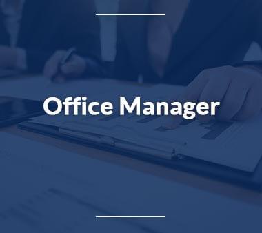 Office Manager Berufe mit Zukunft