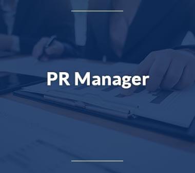 PR Manager Bürojobs