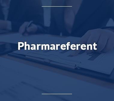 Pharmareferent Ausbildungsberufe