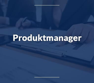 Produktmanager Bürojobs