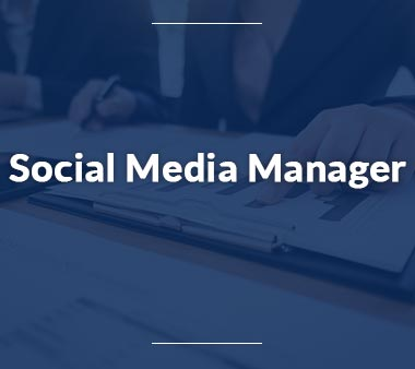 Social Media Manager Bürojobs