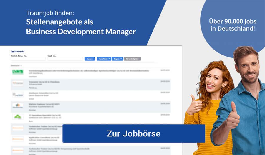 Business Development Manager Jobbörse