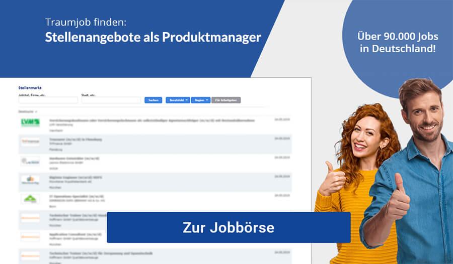 Produktmanager Jobs