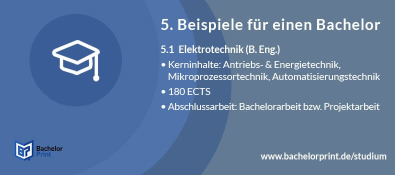 Bachelor of Engineering Aufbau Studium B. Eng. Elektrotechnik Studium