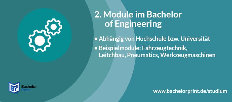Bachelor of Engineering Studium Module