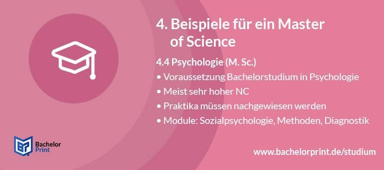 Master of Science Psychologie
