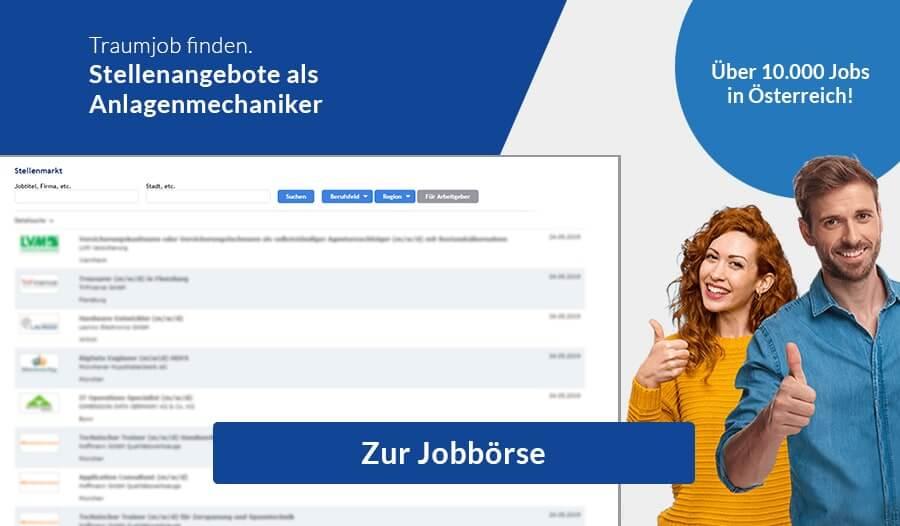 Jobbörse-Anlagenmechaniker