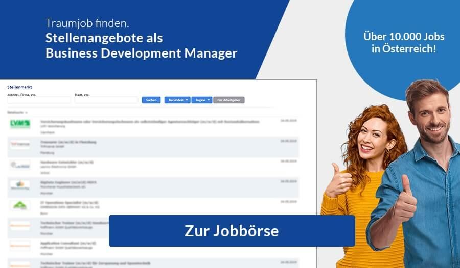Jobbörse-Business-Development-Manager